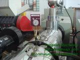 Heißer Verkaufs-Plastikextruder mit Doppelschraube für Belüftung-Rohr und Profil