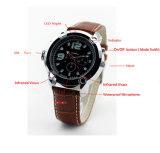 Nachtsicht-wasserdichte Armbanduhr-Videokamera Digital-HD 720p H. 264 CMOS IR
