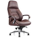 優雅なデザインアルミニウム基礎革は武装させる執行部の椅子(NS-6C113)を
