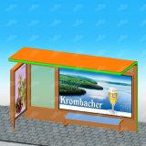 Indicador durável e moderno da mobília de rua para anunciar o abrigo de barramento