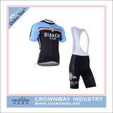 Shorts di riciclaggio della busbana francese della migliore di montagna camicia della bici per gli uomini