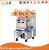 Máquina comercial inteiramente automática da selagem do copo de chá do leite da máquina da selagem