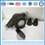 Tipo seco multi contador del agua plástico Lxsg-15s-50s de jet