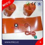Almofada de aquecimento elétrica da borracha de silicone da venda quente da fábrica de China