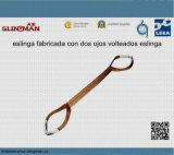 Imbracature di sollevamento ad un solo strato della tessitura En1492-1 (TS-W02-02)