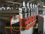 Ligne en plastique en bois d'extrusion de feuille de connexion de feuille creuse flexible de l'extrudeuse PC/PP/PE