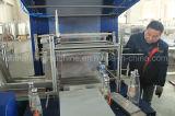 Chaîne de production automatique d'emballage de bouteille d'eau de film de PE avec du ce