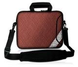 """Caisse de chemise du néoprène de la sacoche pour ordinateur portable simple 15 de type """" avec la courroie de Handle&Shoulder"""