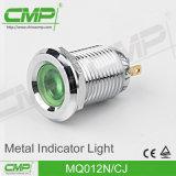 Luz de indicador terminal do Pin de RoHS 12mm do Ce