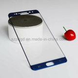 pour la note 7 3D de galaxie de Samsung 9h a courbé la glace d'écran de butoir d'écran en verre Tempered de bord