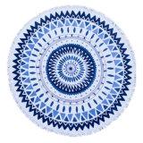 販売のMicrofiber熱いカスタムプリント円形のビーチタオル