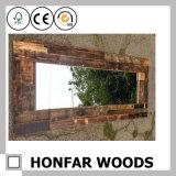 De eenvoudige Spiegel van het Bad van de Grootte van de Stijl Grote in Houten Frame