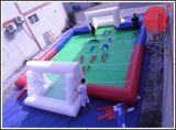Campo da giuoco gonfiabile interattivo della partita di football americano gonfiabile (T9-015)