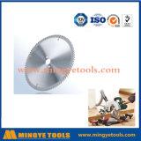 TCT circular Hoja de sierra para cortar madera y aleación