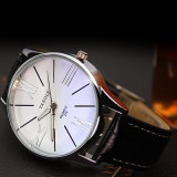 315 wasserdichter Mann-Form-Uhr-blauer Glasentwurfs-preiswerte Preis-Armbanduhr