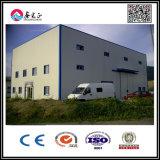 El taller de acero de dos pisos/Warehosue de Structre de la prueba de fuego/vertió