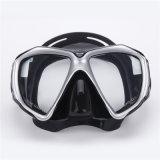 Theniceの新しい専門のスキューバダイビングマスクのスノーケリングのAnti-Fogガラスによってセットされるシリコーン釣プールの飛び込み装置