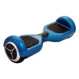 Azul aprobado de la fábrica 2017 del Ce barato uno mismo de 6.5 de la pulgada de Bluetooth/LED del balance ruedas del coche 2 que balancea la vespa eléctrica
