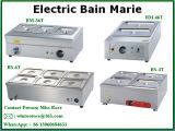 Matériel de cuisine d'acier inoxydable de constructeur Bain électrique Marie avec premier évalué