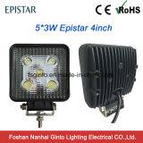 Luz campo a través del trabajo del revés del vehículo LED de los accesorios 12V/24V 4X4 del coche
