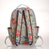Серая холстина Rose PVC делает по образцу мешок Backpack (99133-1)