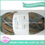 Ruban Dyed Stripe Fils de gros en Chine T-shirt Yarn