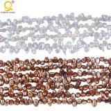 4-5mmの高品質の生まれ変わるKeshiの真珠の繊維