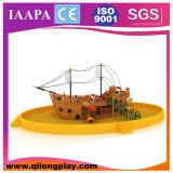 Peu d'enfants Playrgound (QL-16-12) de syndicat de prix ferme de sable de Cornor