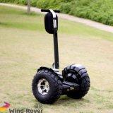 Véhicule électrique de équilibrage d'individu de roue de la boudineuse deux de vent