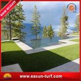 Hierba artificial decorativa del césped con el certificado del SGS