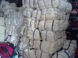 Qualidade superior que limpa o algodão branco Rags do t-shirt de Rags no custo de fábrica do competidor