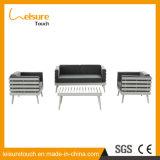 /Aluminum-Sofa-Set des im Freiengarten-Patio-Möbel Hotle Kaffee gesetztes