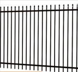 電流を通された塀の網