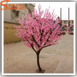 Mini arbol artificial flor de cerezo para la decoración del hogar