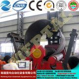 Máquina de rolar hidráulica completa para chapa metálica e aço