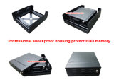 Coche caliente DVR 1080P del vehículo de la venta 8CH HDD con GPS 3G 4G WiFi