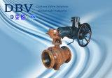 электрический ый шариковый клапан 2PCS установленный Trunnion