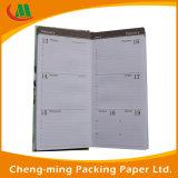 Cuaderno de encargo de papel barato para la fuente de la oficina y de escuela