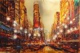 Pittura a olio Handmade di paesaggio della riproduzione