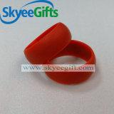 Silikon-Finger-Ring-kundenspezifischer Silikon-Großverkauf-Ring