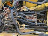 Excavador original usado de la correa eslabonada de Japón KOMATSU (PC220-6) para la construcción