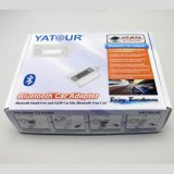 Yt-BTA Bluetooth Installationssatz Yatour Bluetooth Kassetten-Adapter A2dp