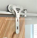 목제 문 기계설비를 미끄러지는 축사를 위한 유리제 미닫이 문 기계설비
