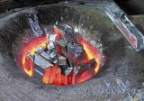 Corelessの鋼鉄溶ける炉(GW-1.5T)
