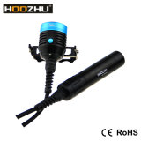 Hoozhu Hu33の飛び込みライト潜る防水120mのための最大4000 Lm小さなかんLEDライト