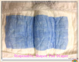 Couche-culotte Shaped de garniture d'incontinence adulte remplaçable