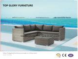 開いた編む現代ソファーの庭の家具(TG-801)