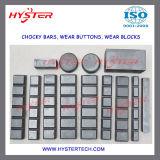 Les pièces d'assemblage de terrassement de position de pièces d'usure ont feuilleté des barres de Chocky d'usure