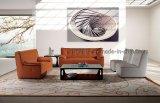 Sofà moderno del cuoio genuino del salone (SBL-626)