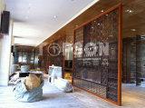 Schermo piegante del divisorio dell'acciaio inossidabile di montaggio della lamiera sottile di Topson per la decorazione dell'hotel